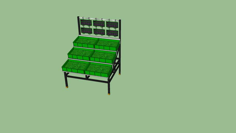 三层蔬果架