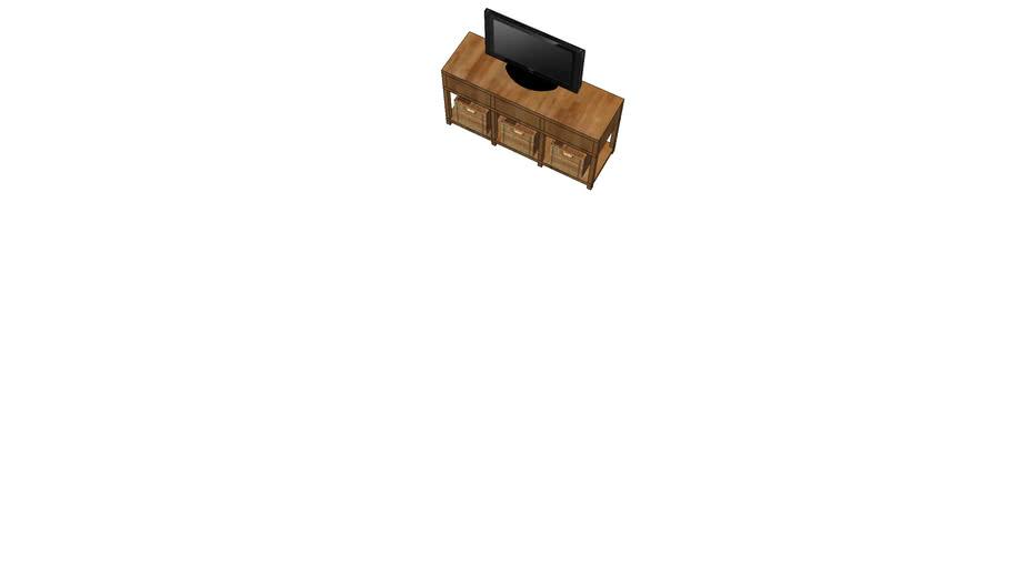 Tv Meubel Design.Tv Meubel Landelijk By Flow Design 3d Warehouse
