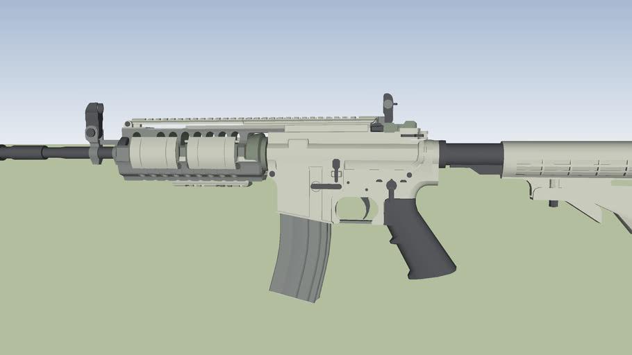 M4A3 A Rifle. V.2