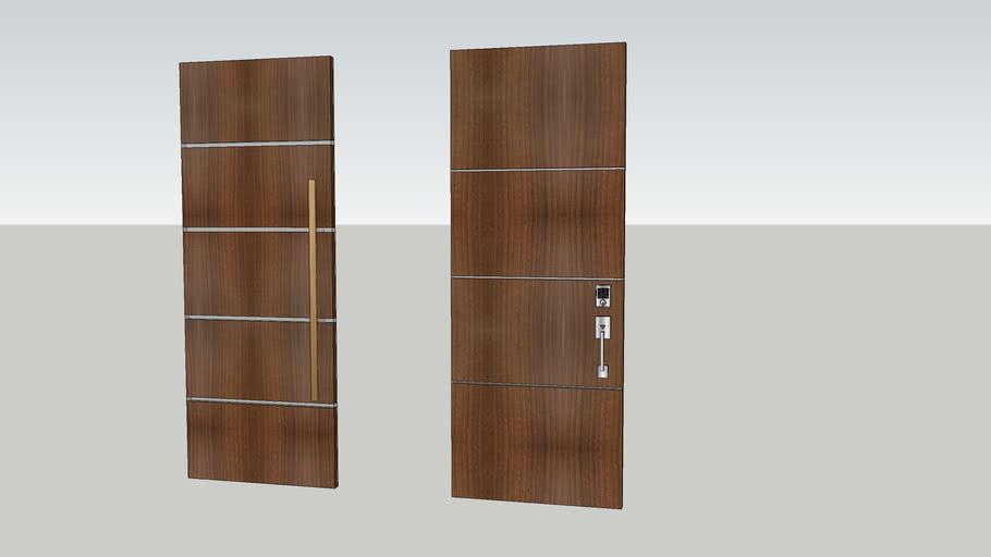 Modern Wood Doors 3d Warehouse