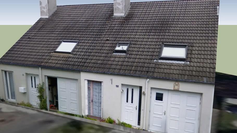Maison Chatillons rue La Pérouse 2