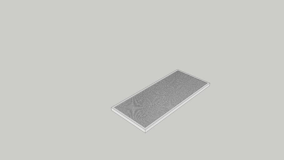 Beer spill mat