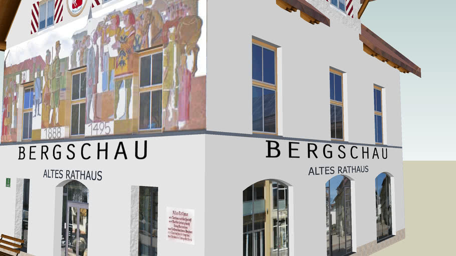Altes Rathaus mit Museum Bergschau in Oberstdorf