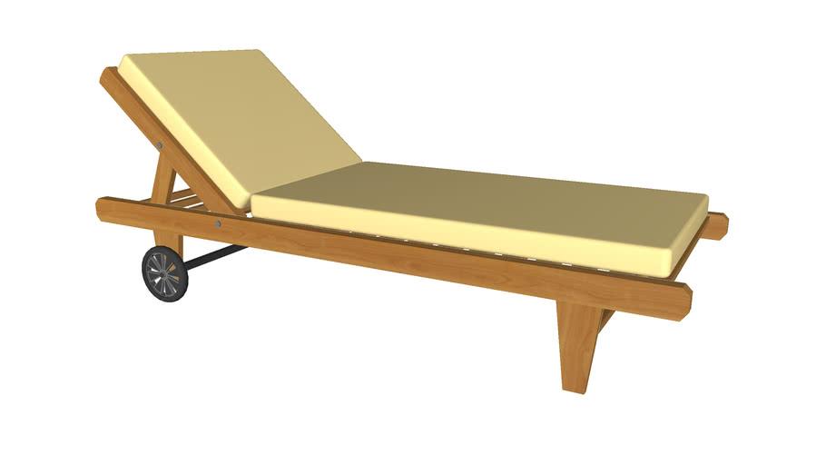 Cushion Lounge Chair Detailed