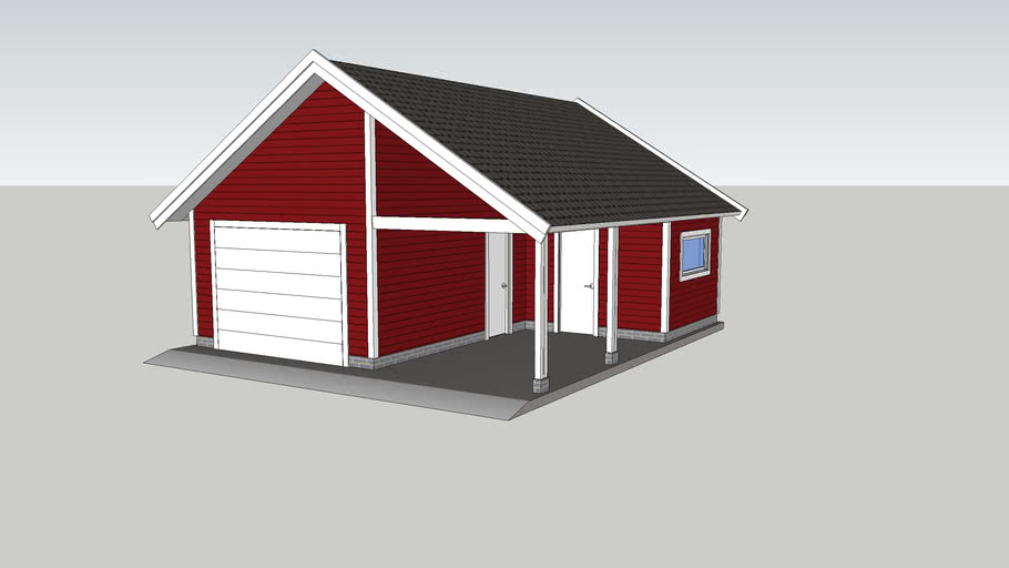 Garage with Carport