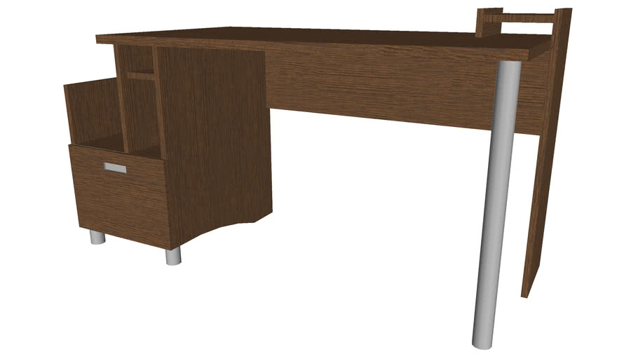 Home Office Computer Desk - Detailed