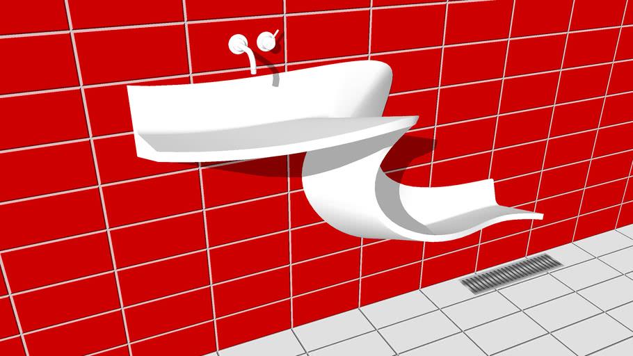 Lavabo design Abisko