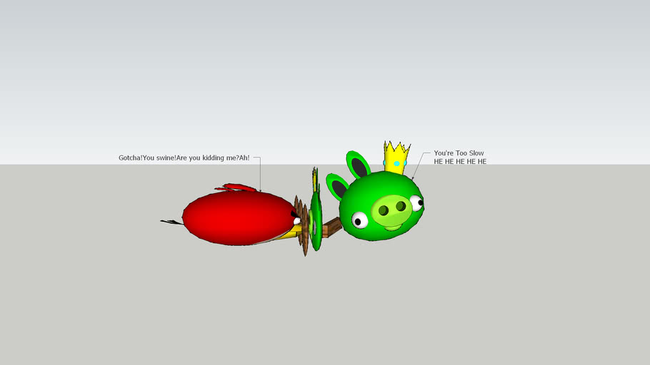 Angry Birds Pig King Battle