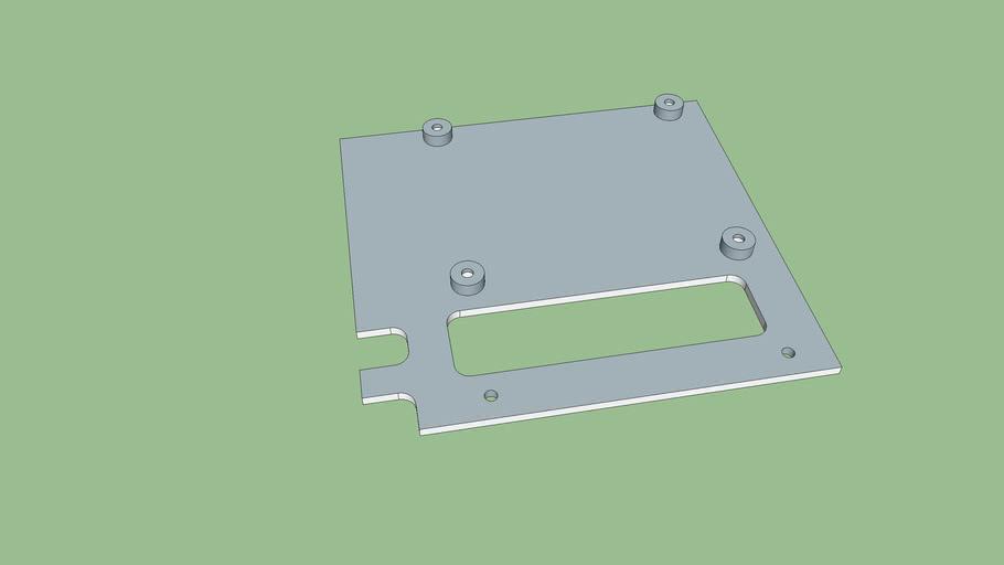 Raspberry PI 3 mounting bracket