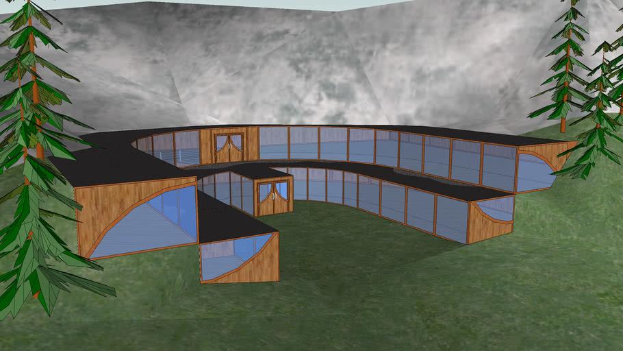 Architect mountain house