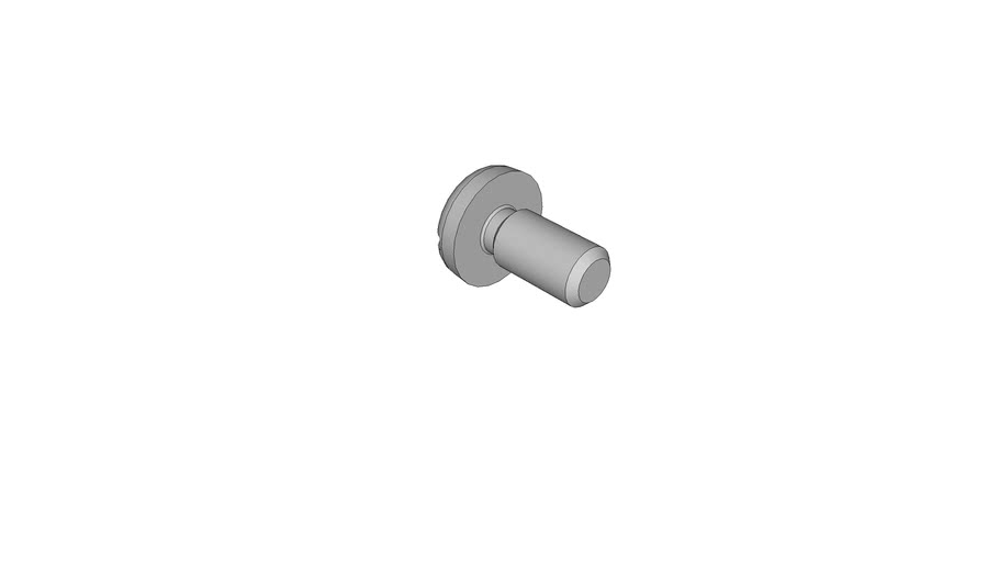 07030426 Slotted pan head screws DIN 85 AM2.5x5