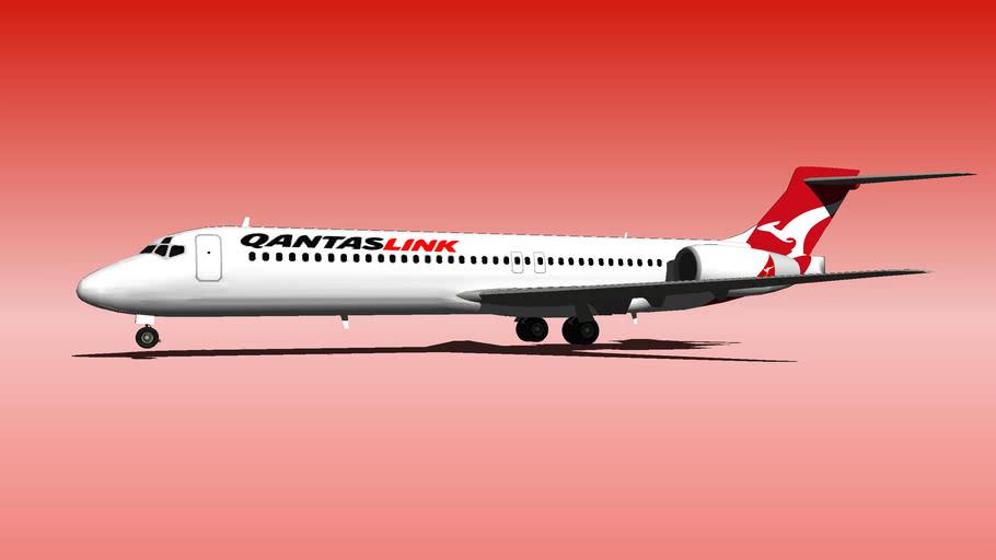 Qantas B 717 LINK.skp