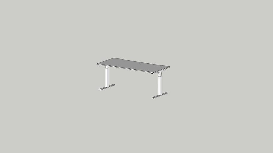 ALFA UP working table 1800x800 cutout