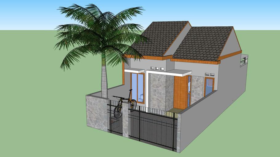 Rumah Tipe 5 X 12 M | 3D Warehouse
