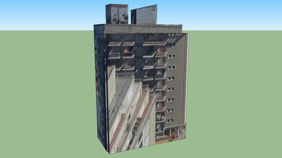 Building in Alsina 2201-2299, Mar del Plata, Buenos Aires Province, Argentina