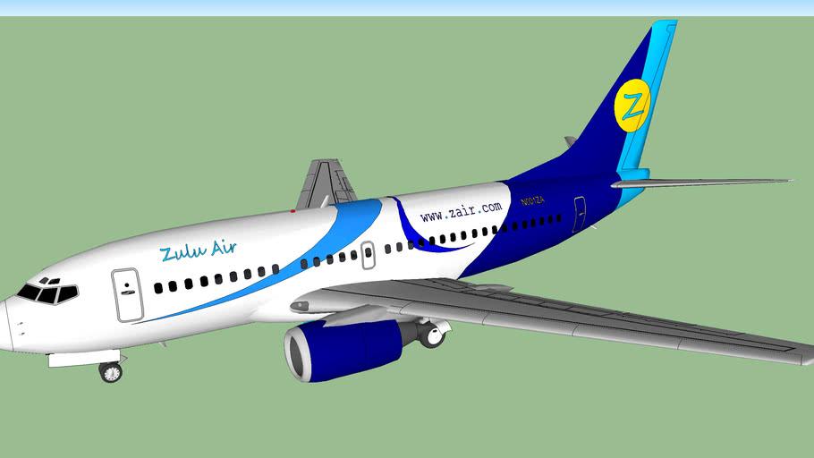 Zulu Air Boeing 737-5ZA