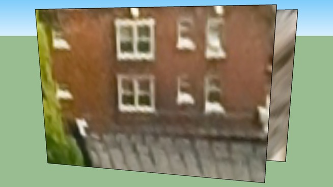 Apartment Building in Detroit, MI, USA