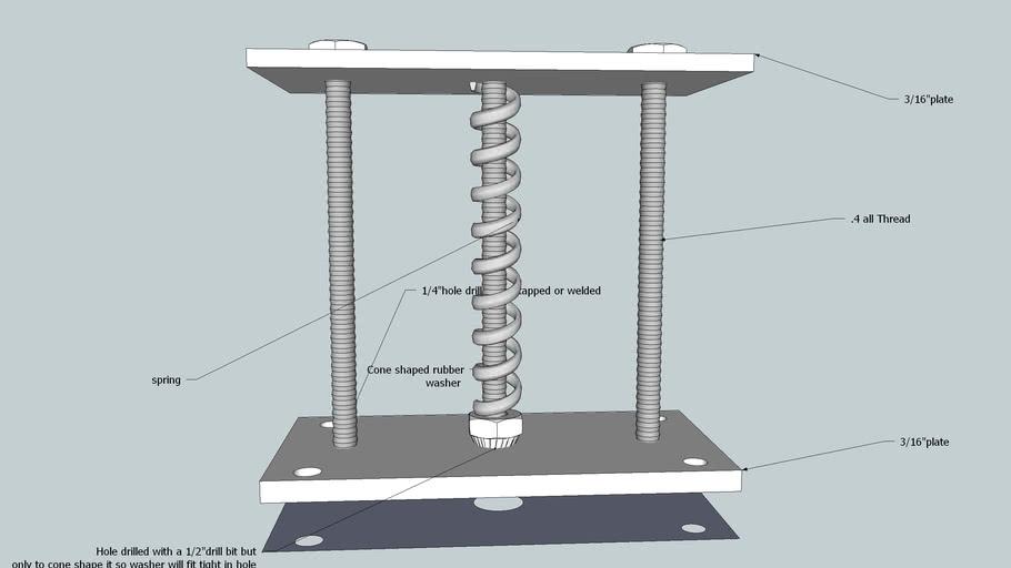 Homemade pressure releaf valve