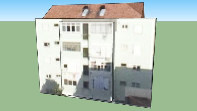 Budova na adrese Lisabon, Portugalsko
