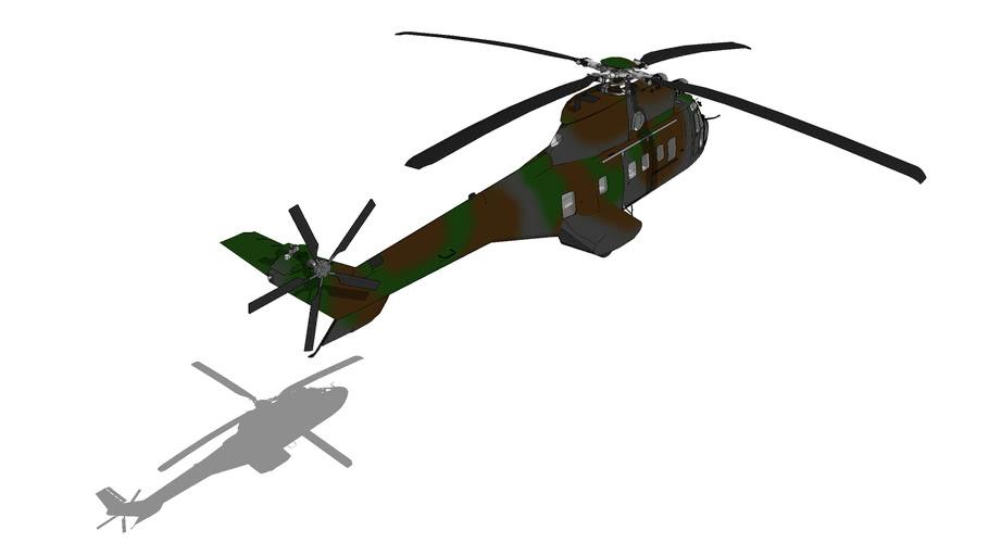 """Eurocopter AS532 """"Cougar"""""""