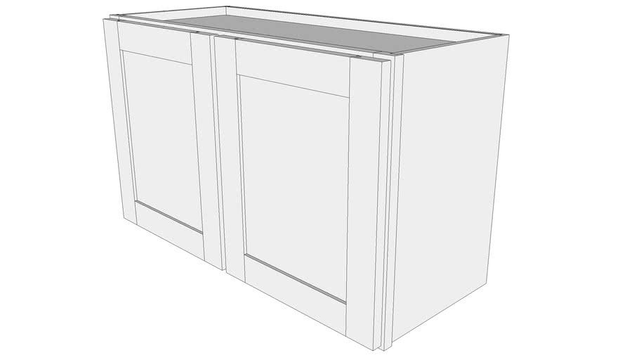 "Bayside Base Cabinet W3018 - 12"" Deep, Two Doors"