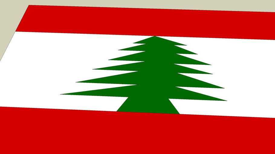 *THE LEBANESE FLAG*