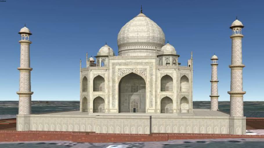 Taj Mahal : The Tomb