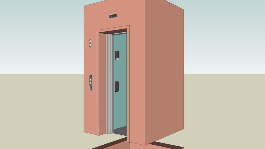 Ascensor hidráulico con puertas dinamicas