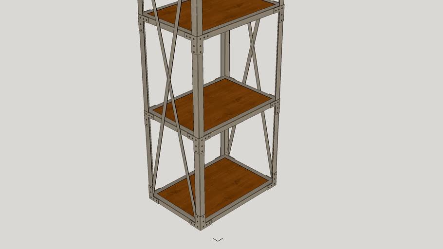 "Salia 70"" Etagere Bookcase"