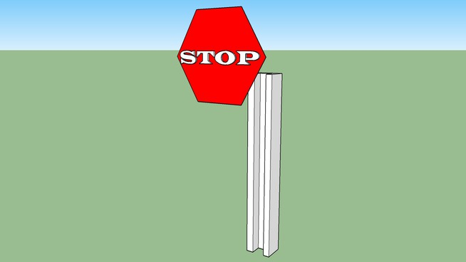illusion stop sign