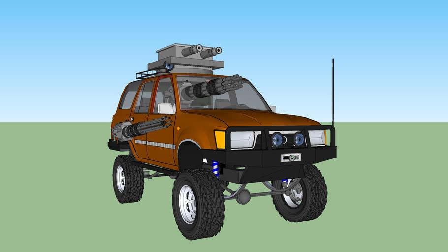 Death race truck