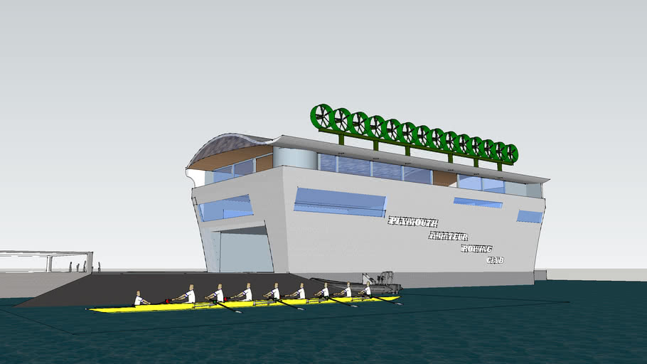 Plymouth Amateur Rowing club Designed By Danny Carlson