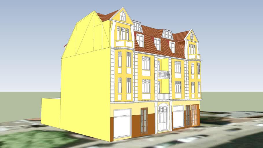 TENEMENT HOUSE ON 25 SNIADECKICH STREET IN BYDGOSZCZ