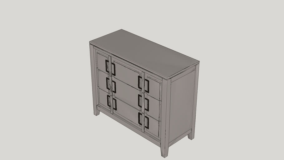 Chiwetel 3 Drawer Cabinet