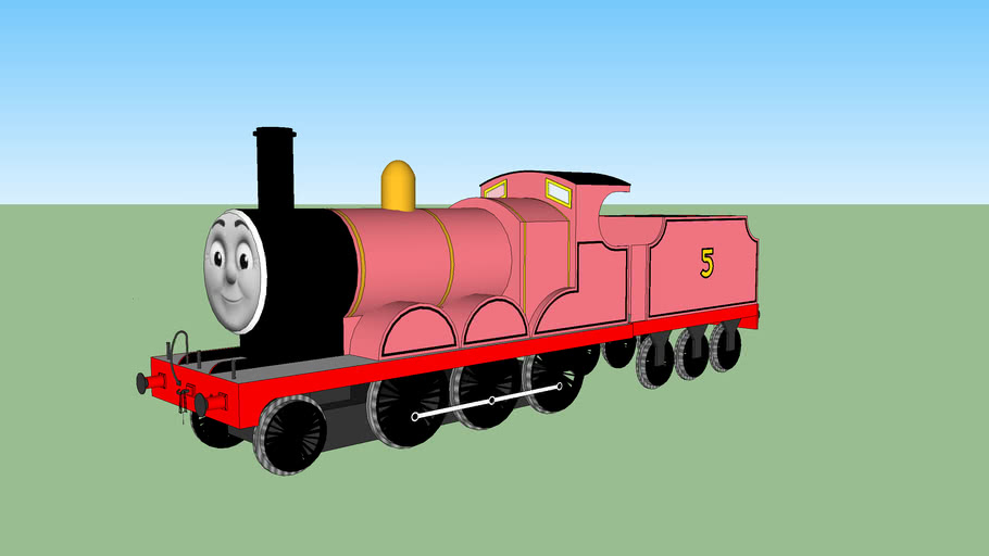 James the Pink Engine