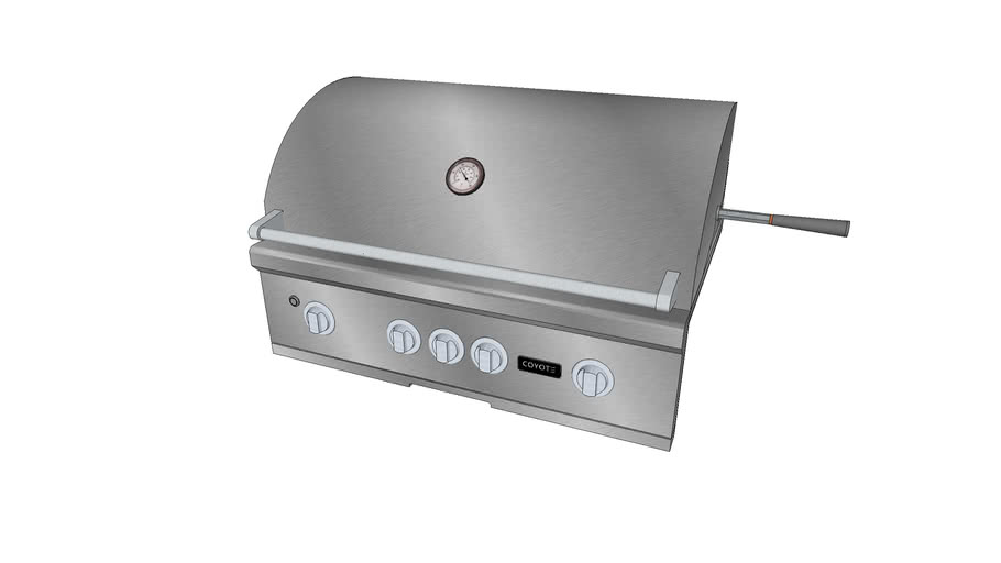 36″ S-Series Grill - Coyote Outdoor Living, Inc.   3D ... on Coyote Outdoor Living Inc id=42450