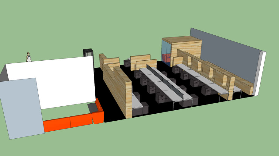 Upper Office layout