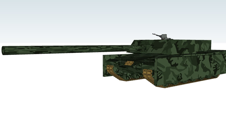 Leopard 2-HKM main battle tank 145mm