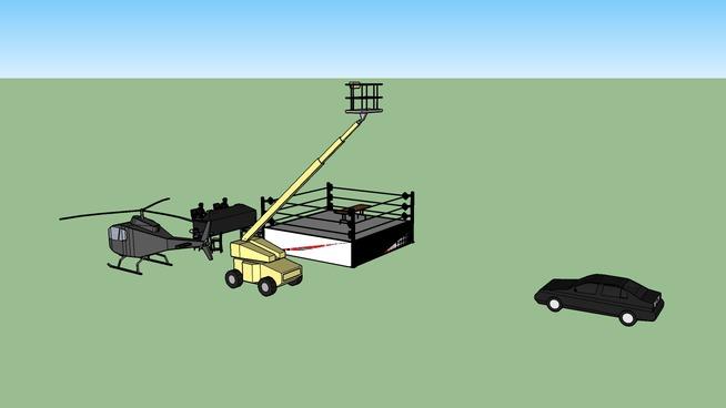WWE hardcore match