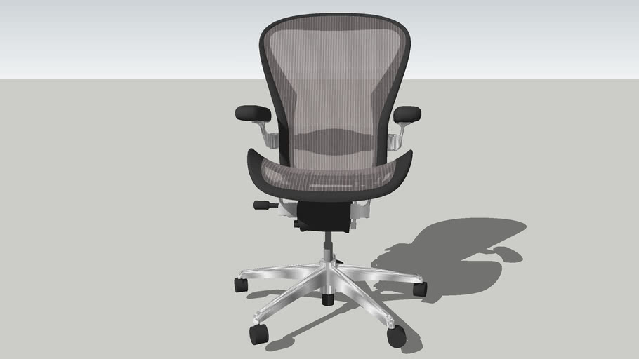 Herman Miller Aeron Chair Dynamic 3d Warehouse