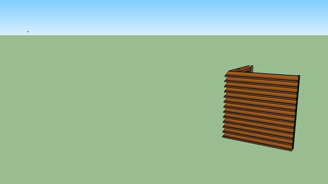 Roof Equipment Screen Model V4YH by Architectural Louvers