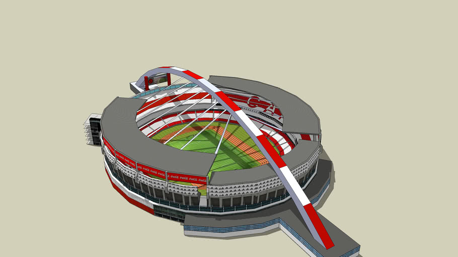 Estadio Monumental (River Plate) -  Remodelado