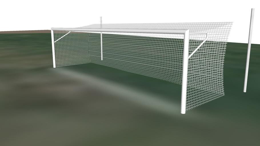 Goal a football field in Canada - Toronto 10004.