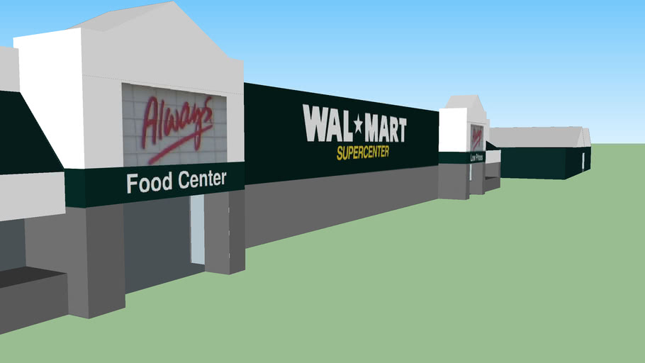 Walmart Supercenter on 2255 Florida 71 Marianna FL 2002-present for new film titled Joshua Wickford