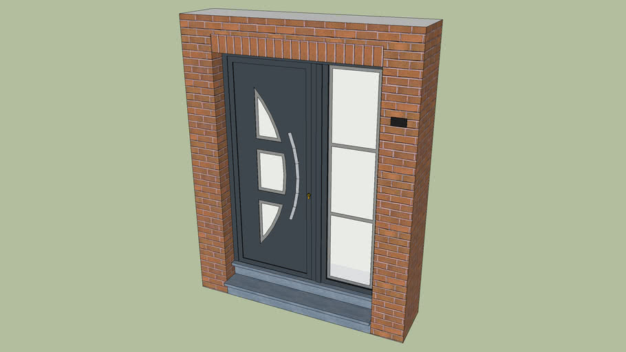 Front PVC door (/ vanjska vrata)