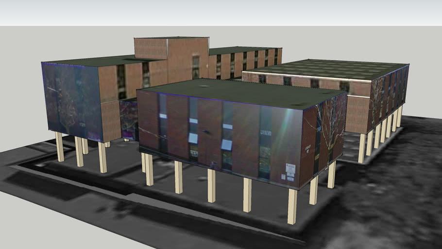 Crewe Library, Civic Centre, Crewe