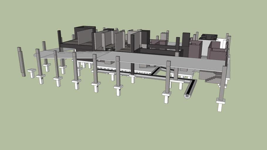 structural framing ramp