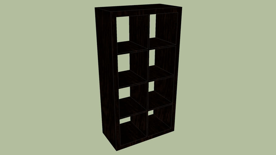 Expedit Ikea cupboard (exact dimensions) (2-4)