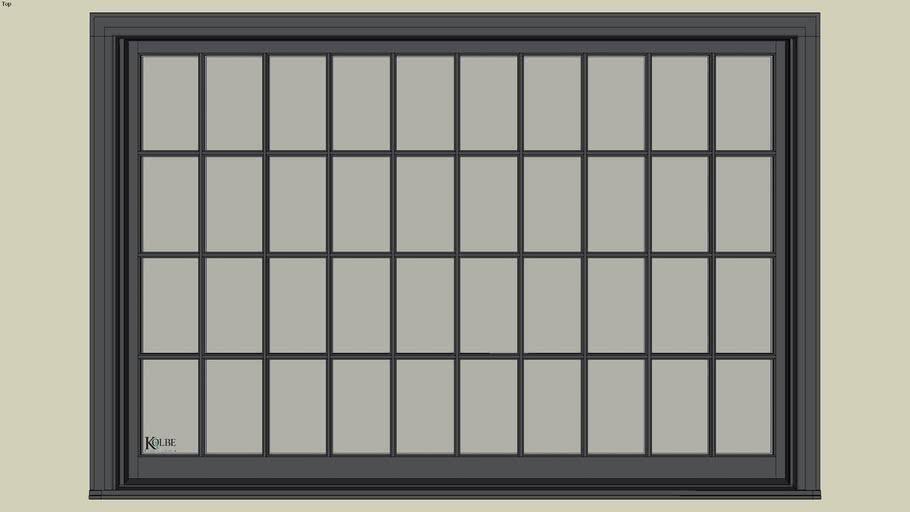 "Kolbe Ultra Sterling Double Hung Studio UDHS8456 (F.S. 8'-5 1/2"" x 5'-8 7/16"" R.O. 8'-6"" x 5'-9"")"