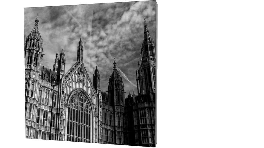 Quadro Dorival Moreira - Coleção Londres: Westminster Palace